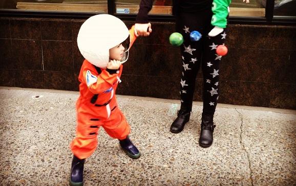 Futuristic Astronaut Halloween Costume Revision Theatre