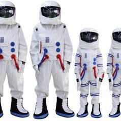 Futuristic Astronaut Halloween Costume